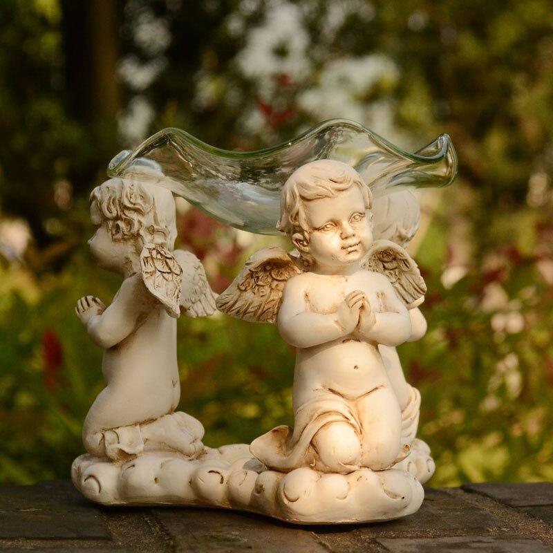 Europe Angel TeaLight Svícen Aromatický Pec Burner Svatební Party Decor Kadidlo hořák Keramický olej Burner Aroma Furnace