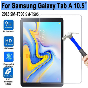 New Tempered Glass For Samsung Galaxy Tab A/A2 10.5 SM-T590 T590 T595 Tablet Screen Protector 9H Toughened Protective Film Guard