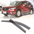 4pcs Blade Side Windows Deflectors Door Sun Visor Shield For Mazda CX-5 2012-2013
