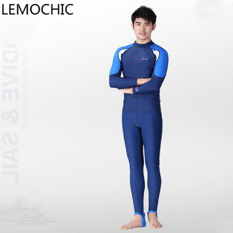 High quality Sunscreen clothing swimsuit Siamese jellyfish wetsuit Island split Sambo snorkeling equipment diving suit
