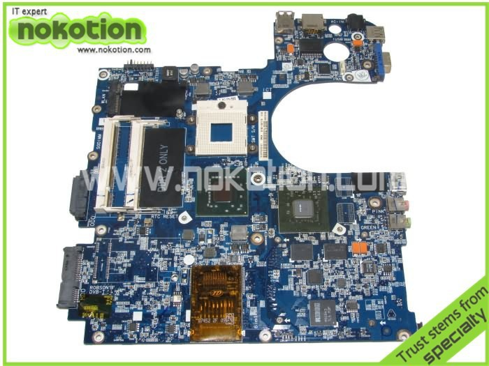 все цены на  NOKOTION laptop motherboard for samsung R70 BA92-04717A Mainboard DDR3 full tested GeForce 8600M  онлайн