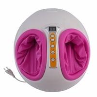 220 V Điện Foot Massager Antistress Trị Liệu Sưởi Ấm Shiatsu Nhào Vibrator Chân Máy Massage Chân Thiết Bị Chăm Sóc