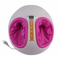 220V Electric Foot Massager Antistress Heating Therapy Shiatsu Kneading Vibrator Foot Massage Machine Foot Care Device