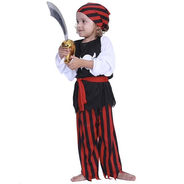 Kid's Brave Pirate Costume
