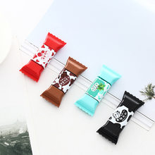 Cute Kawaii Creative Chocolate Candy Correction Tape For Kids Gift Korean Stationery Artificial decoration(China)