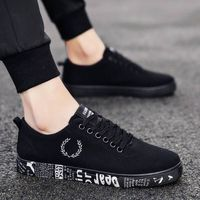 European 2018 Spring/Autumn lace up canvas adult casual shoes high quality fashion sneakers man breathable cool men shoes