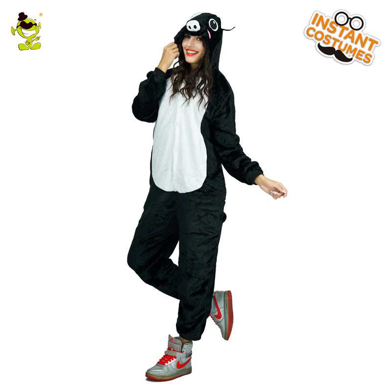 High Quality Pig Pajamas Woman Cute Pajamas Costumes Carnival Party Adult Hooded Dress-up Funny Animal Sleepwear for Women