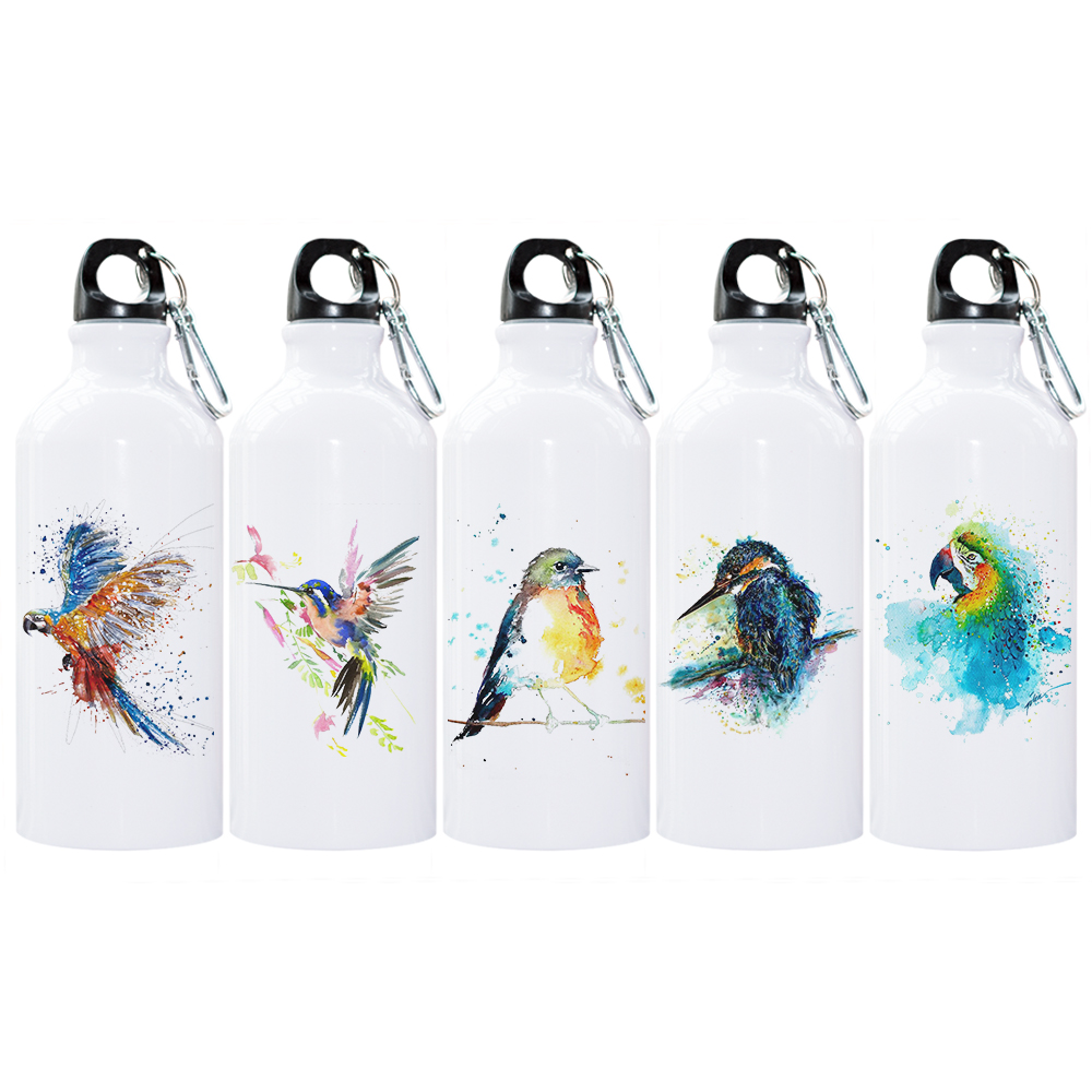 Foldable Exclusive Gifts Toys /& More Green Pollkadot 16.9oz or Travel  Biodegradable Materials 2 Eco-Friendly Reusable Water Bottles w// Easy Grip Shape /& Attachable Clip Freezable Gym Washable  Perfect for Work