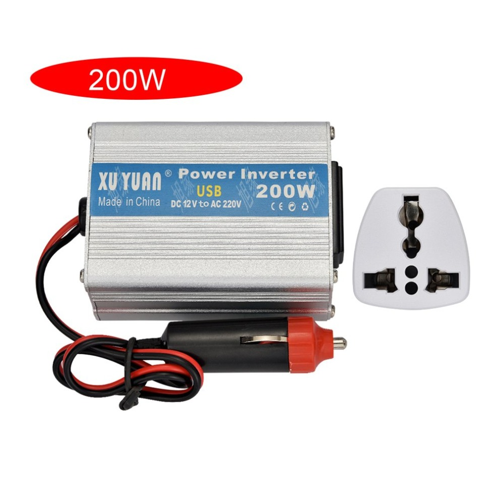 Car Electronics & Accessories 150W Power Inverter,DC 12V to AC 220V Transformer Car Charger Lighter Adapter for Laptop,Camera,Smartphone,Household Appliances