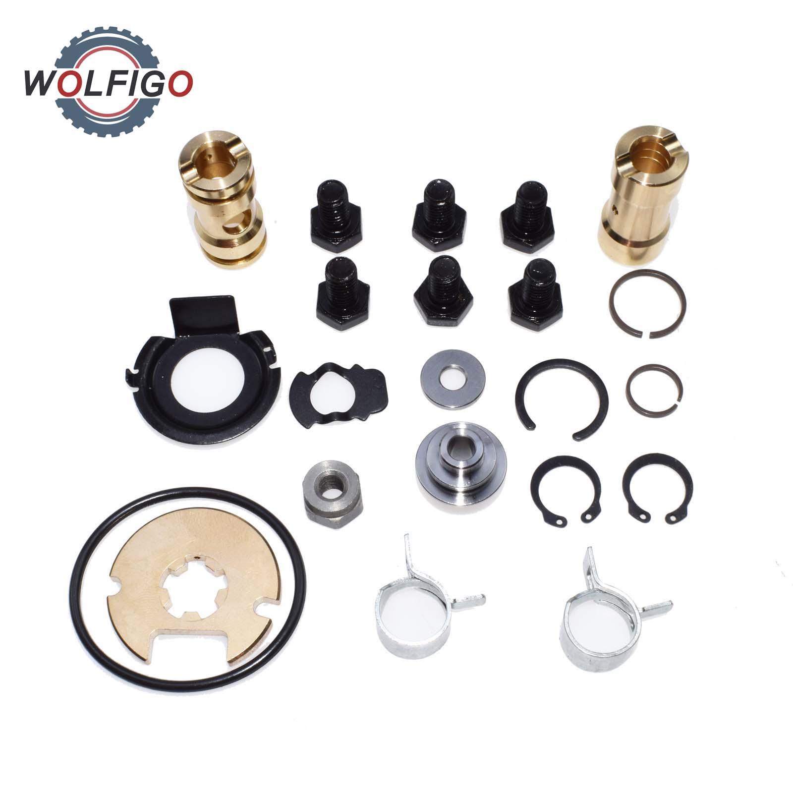 WOLFIGO TurboTurbocharger Repair Kit Rebuild Kit KKK K03 K04 Audi Passat Bora Leon Golf VW