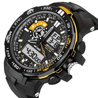 Fashion digital children's watch chronograph date waterproof watches sport for girls boys child wristwatches SD737