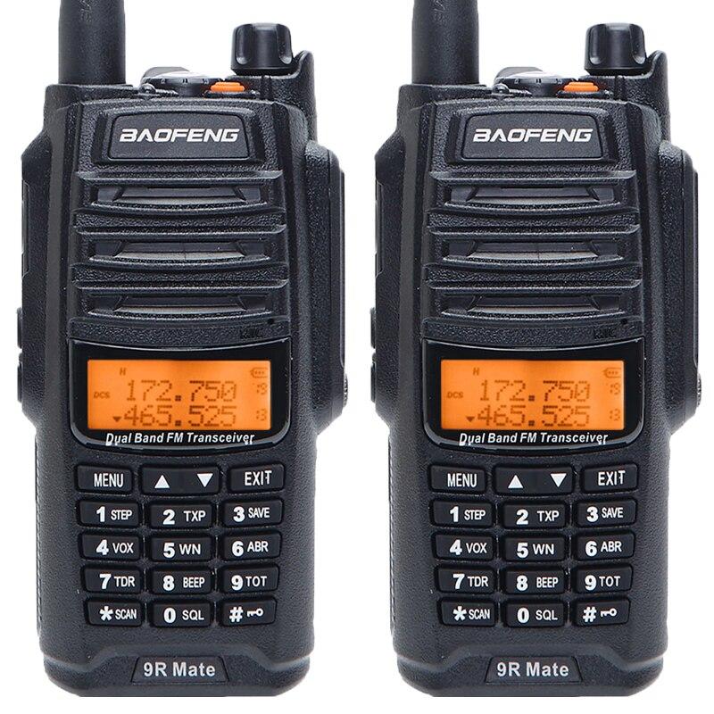 2 sztuk Baofeng UV 9R Mate 4500mAh 10W aktualizacji UV 9R Plus IP67 wodoodporna krótkofalówka CB Ham Radio stacji 10KM dalekiego zasięgu w Krótkofalówki od Telefony komórkowe i telekomunikacja na AliExpress - 11.11_Double 11Singles' Day 1