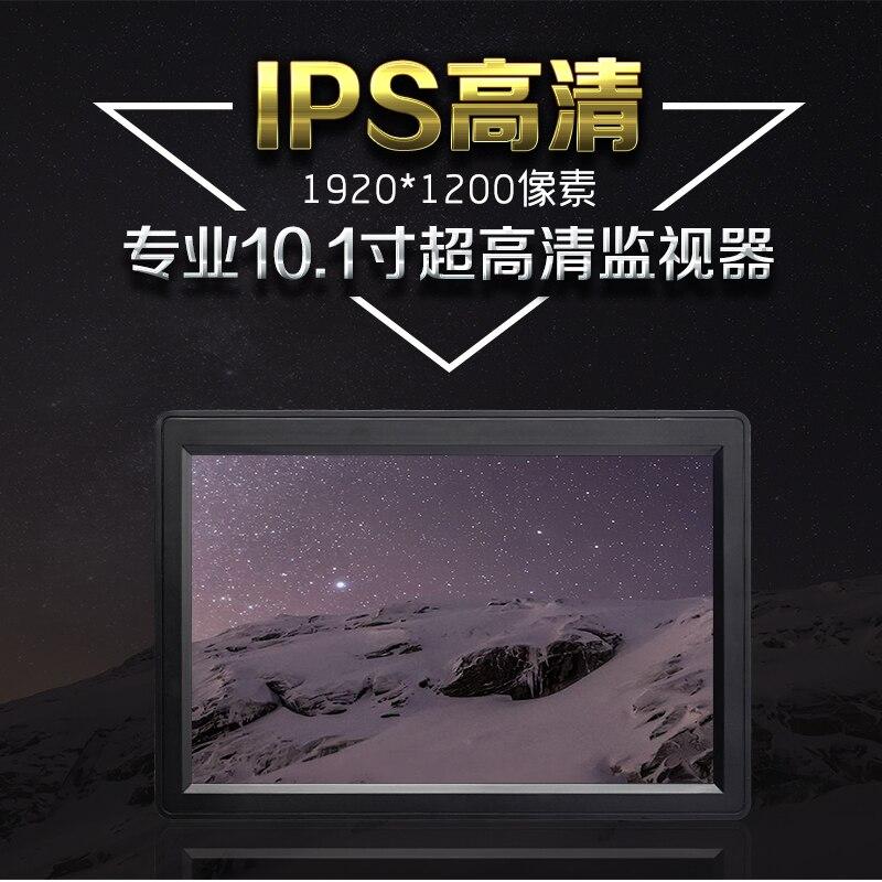 10,1 Zoll IPS 1920x1200 HD FPV Monitor mit HDMI VGA Audio Video für Luftaufnahmen Boden Station Unterstützung 4 K - 4