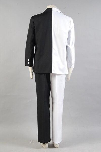 Batman Cosplay Costume Harvey Dent aka Two-Face Black White Comic Costume Full Sets футболка с полной запечаткой мужская printio harvey dent two face