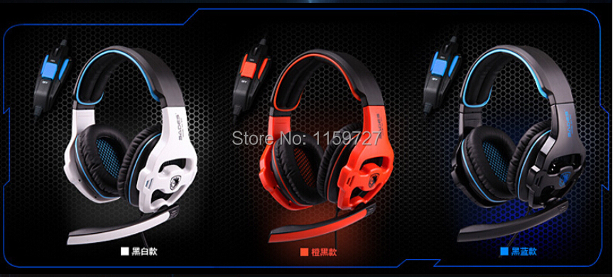 ФОТО Hot!! Drop shipping SA sa 810 gaming headset, headset computer headset with Microphone LOL CF CS with retail box ,Free shipping