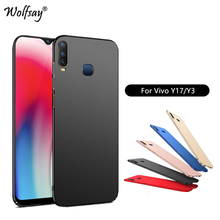 Case For Vivo Y17 Case Ultra Thin Classic Smooth Matte PC Phone Cover For Vivo Y17 Cover Coque For Vivo Y3 Y17 Y15 Y12 Case gkk 3 in 1 case for vivo y17 v17neo cover y15 case 360 degree full protection hard pc phone back cover for vivo y3 z5 case matte