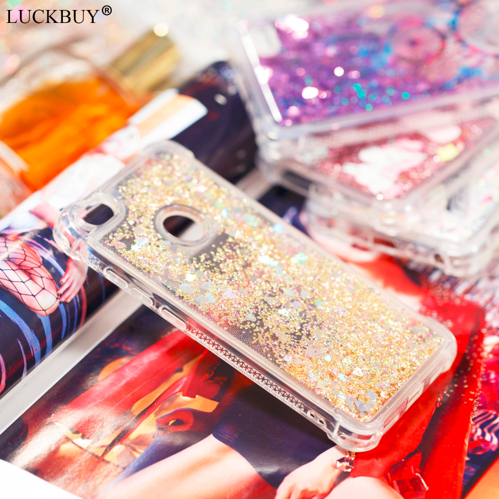 LUCKBUY Soft Case For  Xiaomi Redmi Note 5A 5 A Cover Glitter Stars Dynamic Liquid Quicksand Silicon TPU for Note5A