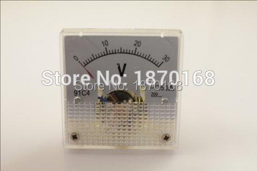 DC 3V 5 V 10 V 15 V 20 V 30 V 50 V 100 V 150 V analoogpaneeli pinge - Mõõtevahendid - Foto 2