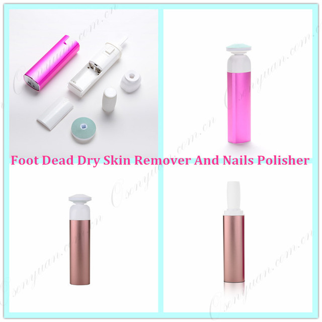 Weihnachtsgeschenk Professonial MiPedi & MiNail Elektrische Callous Remover Nail Polierer Beste Geschenk Schnelle Nägel Polieren