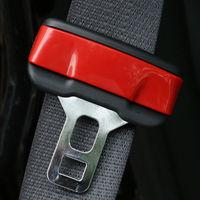 Đỏ An Toàn Bảo Vệ Seat Belt Buckle Clasp Insert Clip Bìa Phù Hợp cho Cherokee 14-16