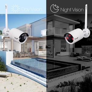 Image 5 - Zjuxin 1080P WIFI חיצוני מצלמה 1920*1080 אלחוטי IP מצלמה עבור שלך אבטחת בית iCSee P2P 3.6mm עדשה