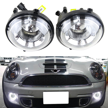 Directly replace LED DRL Daytime Running Light Halo Fog Lamp Kit For Mini Cooper R55 R56 R58 R60 Countryman R61 Paceman F56 180sx led ヘッド ライト