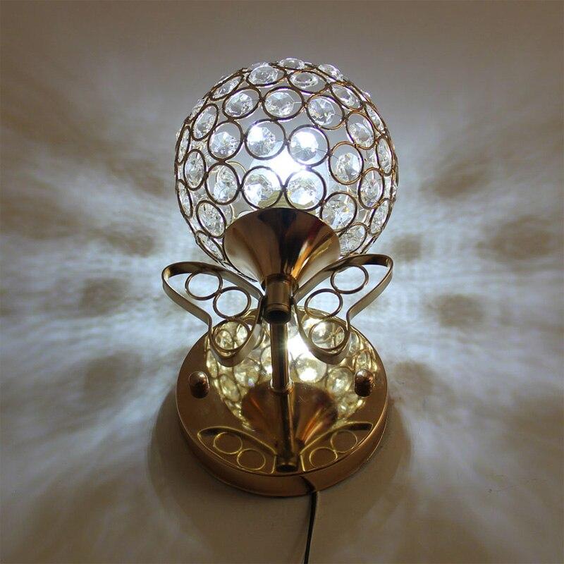 led crystal wall lamp Wall lights luminaria home lighting living room modern wall light lampshade for bathroom e14