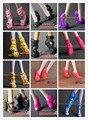 Последние восемь пар пакет продать подлинная для монстр гимназистом странные обувь высокие ботинки ботинки