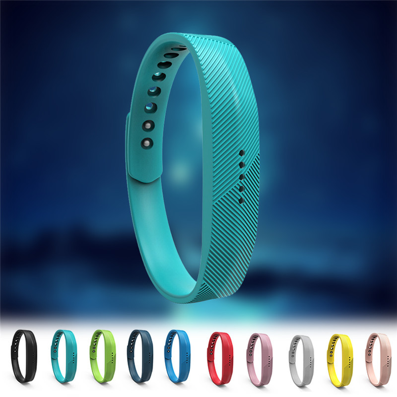 12 Colors Silicone Replace Wrist Band Strap Bracelet For Fitbit Flex 2 font b Smart b