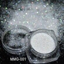 1Box Nail Glitter 5ml Powder Making 1pcs White Shinning Dust For Soap Resin Decoration#F