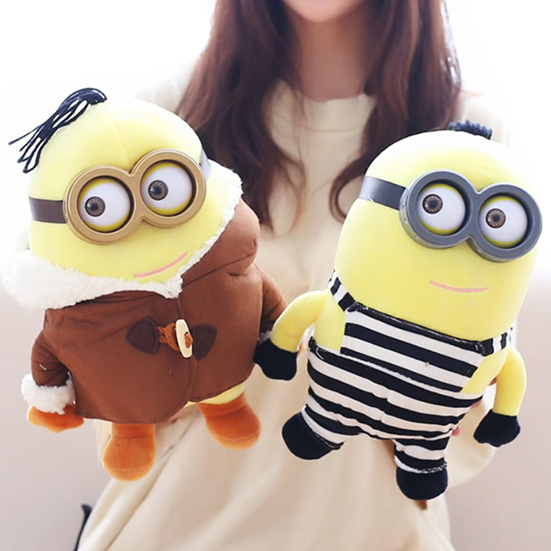 Classic Cartoon Minions Plush Toy Creative Toy Baby Kids Sleep Appease Doll Birthday/Xmas Gift Doll 28/38/60cm