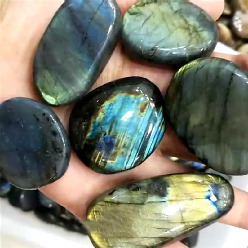 Натуральный Красочный Кристалл Лабрадорита лунный камень натуральный камень орнамент лунный камень 2-3 см/3-4 см/4-5 см/5-6 см