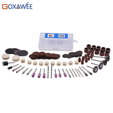 GOXAWEE 220V Power Tools Electric Mini Drill with Flex shaft 160pcs Rotary Tools Accessories For Dremel Drill Tools 3000 4000