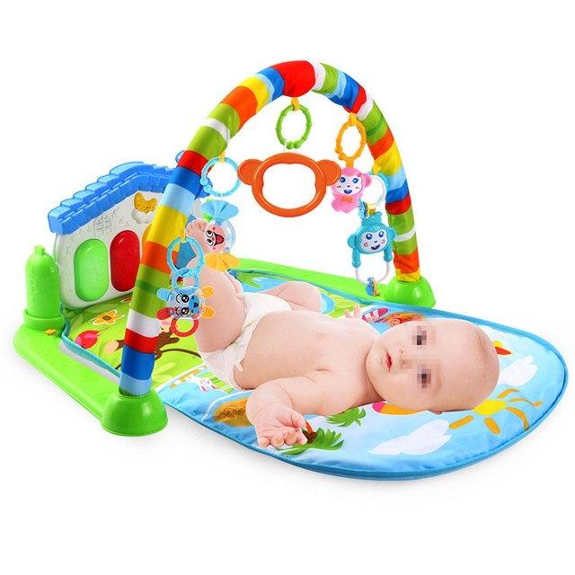 0825aaa43 Newborn Infant Baby Game Bed Baby Toddler Cribs Crawling Activity ...