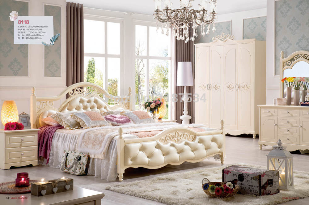8118 Home bedroom furniture wooden four doors wardrobe chest chifforobe modern home bedroom furniture
