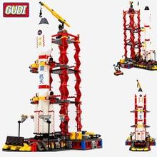 City Space Center Rocket Space Shuttle Blocks Bricks Building Blocks Model Birthday Gifts Educational Toys For Children стоимость