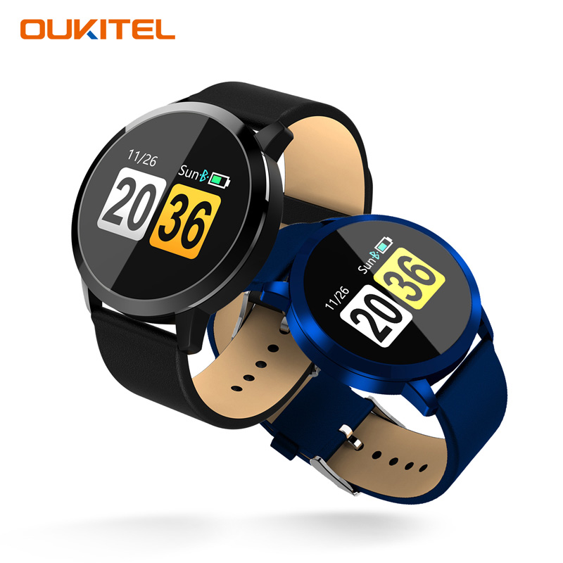 OUKITEL W1 Waterproof IP67 Smart Watch Heart Rate Monitoring Blood Pressure Oxygen Bluetooth Camera Anti-lost Sports Watch
