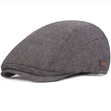 HT2425 Vintage Men Women Beret Cap Spring Summer Breathable Sun Caps for Artist Painter Ivy Newsboy Flat