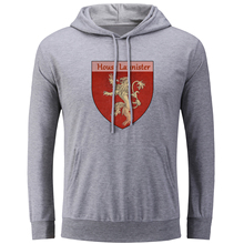 Game of Thrones House Lannister Hear Me Roar Hoodies Men Women Girl Boy Sweatshirt Winter Jackets Hip Hop Unisex Streetwear Tops