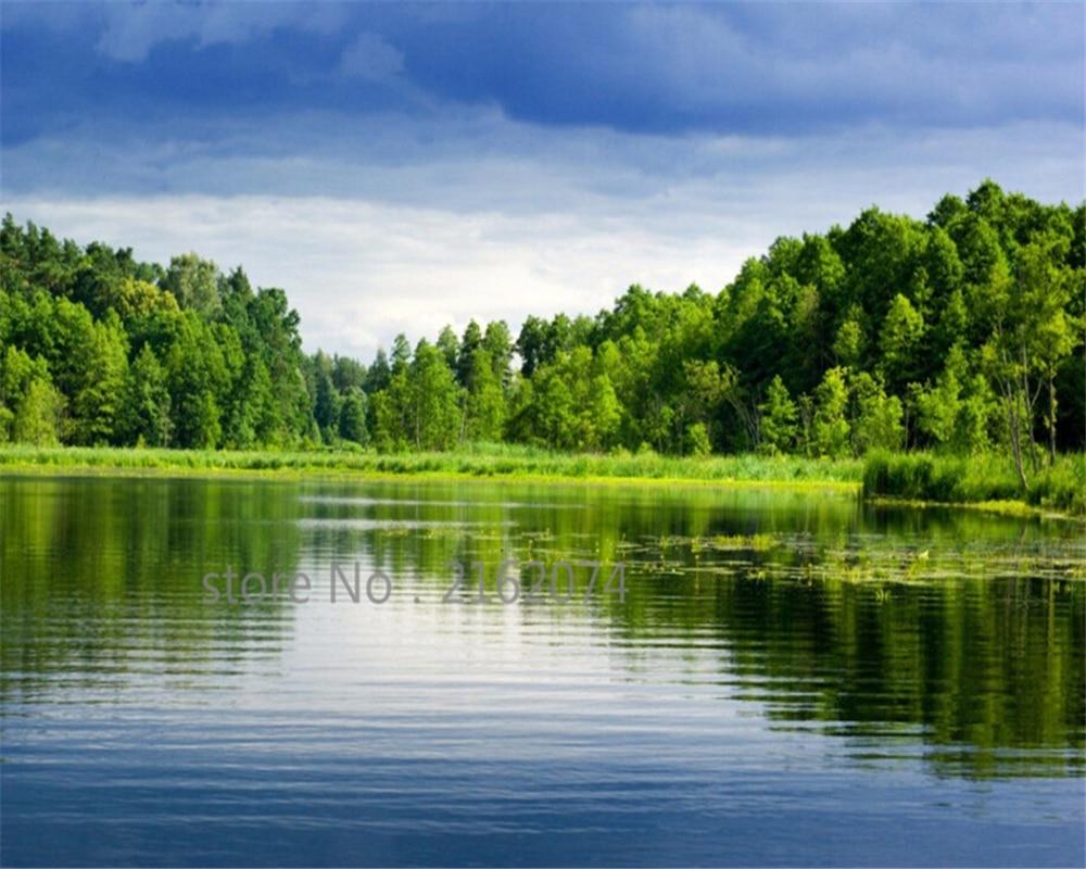 Beibehang Menyesuaikan Setiap Ukuran Foto 3d Pemandangan Alam