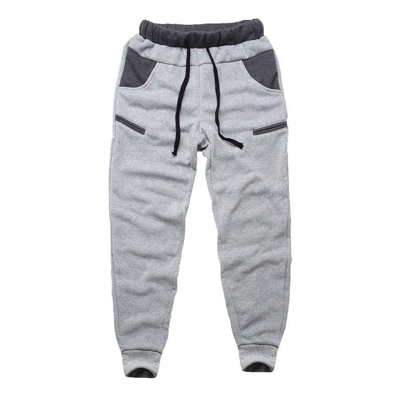 Winter Warm Thick Sweatpants Men's Track Pants Elastic Casual Baggy Lined Tracksuit Trousers Jogger Harem Pants Men Plus Size 11