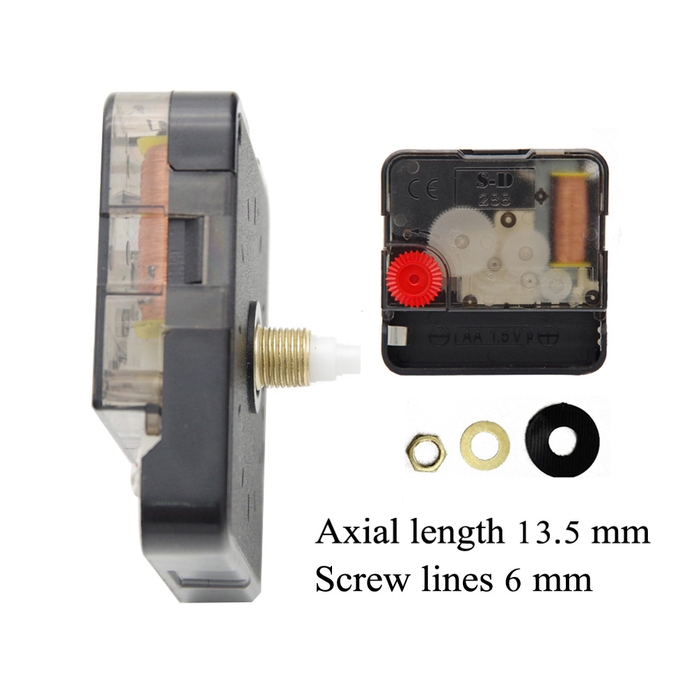 Quartz Clock Movement Mechanism DIY Kit Battery Powered Hand Tools Accessories