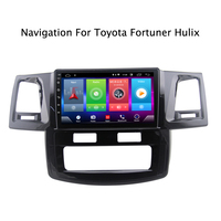 Car Android 8.1 Multimedia Player for Toyota hilux fortuner 2013 GPS Navigation Device bluetooth steering wheel control support