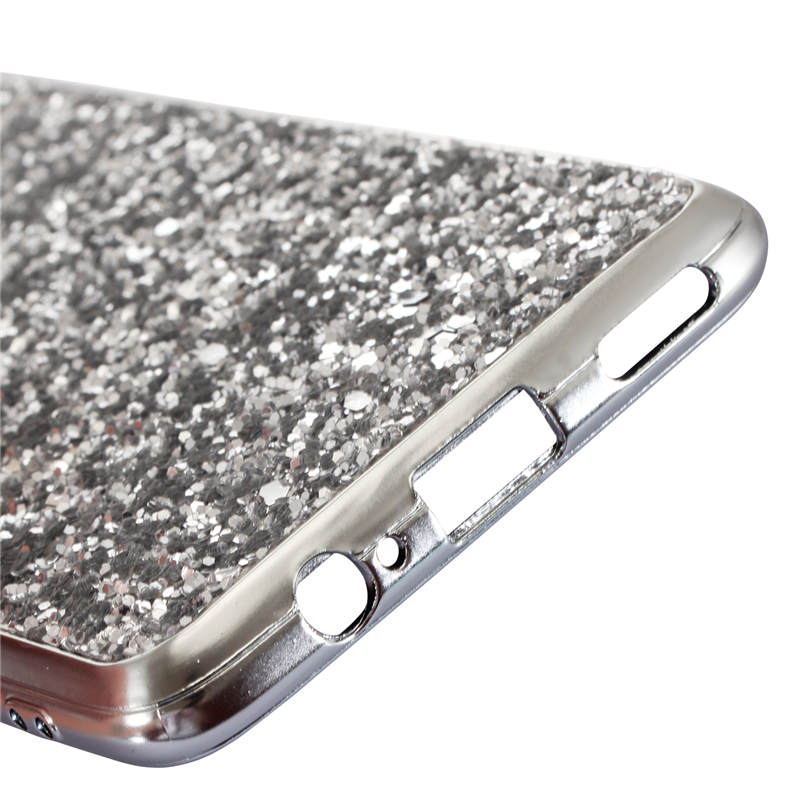 Phone Case for Oneplus 6 1 6 Case Silicon Bling Glitter Crystal Sequins Soft TPU Back Cover Fundas for One plus 6T 6 capa coque in Fitted Cases from Cellphones Telecommunications