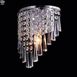 Kryształ światła przejściach i korytarzach światła lampka do sypialni nowoczesne minimalistyczne oświetlenie producentów hurtowych lampy ścienne Rmy-0284