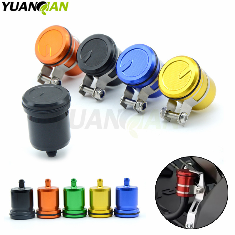 Universal Motorcycle Accessories Brake Fluid Reservoir Clutch Tank Oil Cup For Kawasaki Z800 Z750 Z1000 er6n ninja 300 Z 800 750 motorcycle brake fluid reservoir clutch tank oil fluid cup for yamaha yzf r25 r15 r6 r125 kawasaki z750 z800 fz8 fz1 fz6r mt09