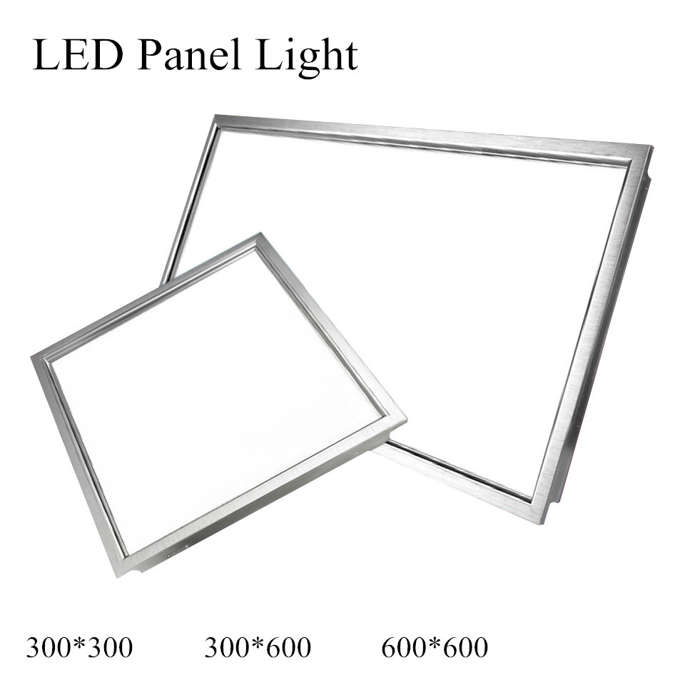 hight resolution of led panel light 600x600 48w square 300x300 18w led panel 300x600 24w led ceiling light 4800lm indoor lighting ac85 265v ce rohs