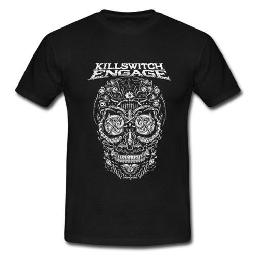 2018 New Summer T-shirts KILLSWITCH ENGAGE AMERICAN METALCORE BAND Overcast Aftersho T-SHIRT S M L XL 2XL image