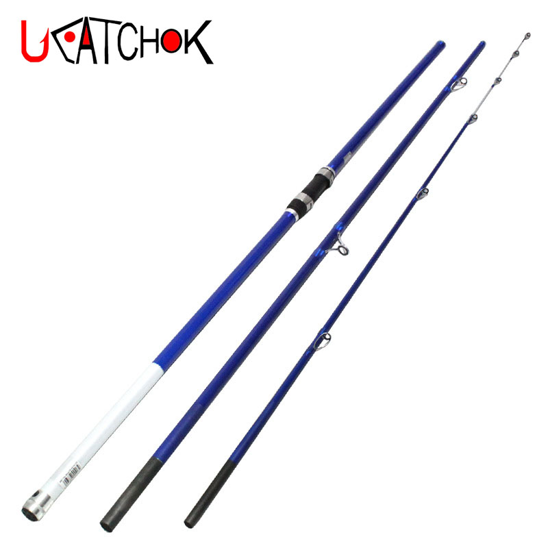 4.2m Casting 100-200g lure weight high carbon fiber 3section surf rod carp rod far casting beach long distance throwing fishing 4 0m sk sic guides 150g lure weight telescopic casting fishing rod beach long shot distance throwing carbon rod fishing tackle