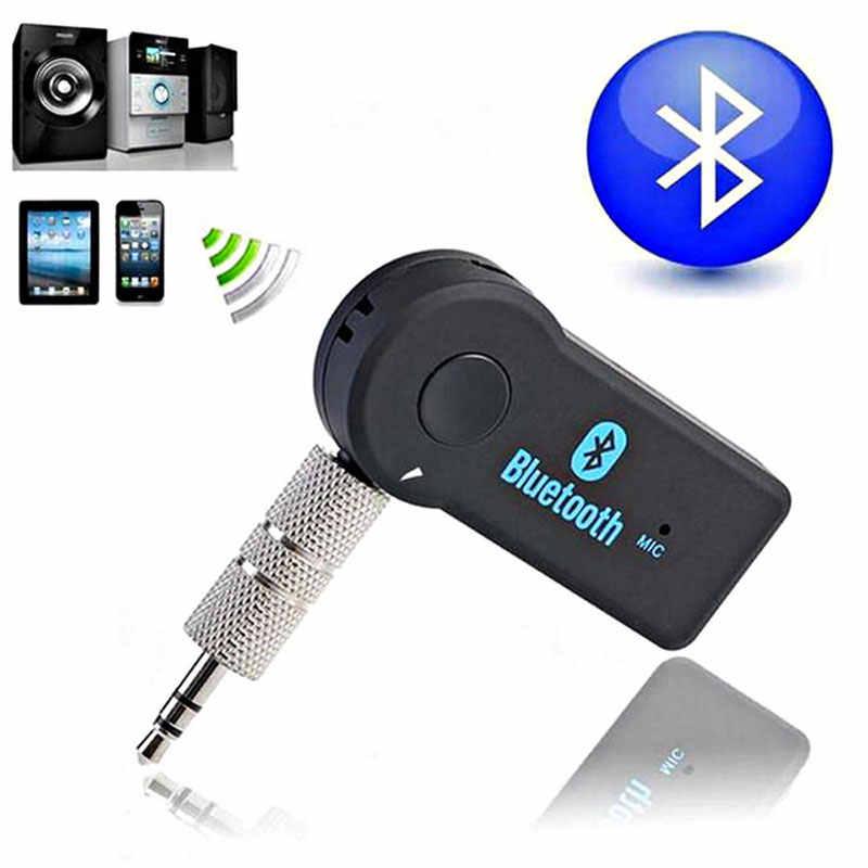 Odbiornik Bluetooth zestaw samochodowy przenośny Adapter Audio Stereo 3.5mm do Car Audio 1 din 2 din strumieniowego przesyłania muzyki smartfon radio samochodowe